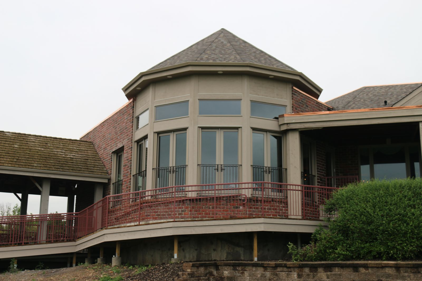 Exterior view of the Rotunda Room